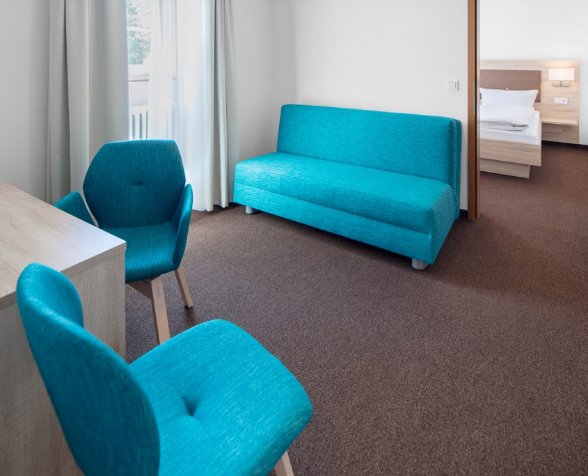 Apartment-Zimmer des Hotel Pelikan in Beuron